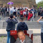 Manifestation internationale de protestation boyafarienne dans la ville néerlandaise de La Haye